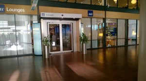 SAS Lounge CPH Entrance