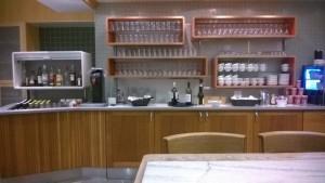 SAS Lounge CPH Drinks Area